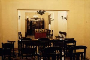 the small Jewish Synagogue in Valletta