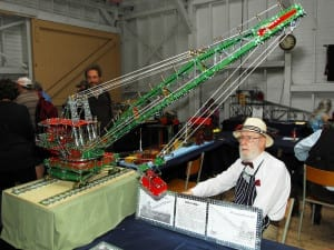 A dedicated Meccano enthusiast