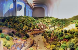 Museum of The Gorge - model of The Gorge