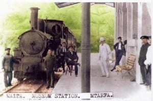 The old Malta Railway