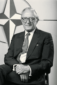 Lord Carrington, NATO Sec Gen and Britain's Foreign Minister