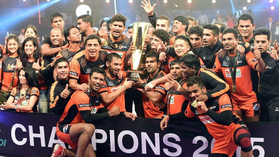 Making Mumbai Proud: KPL'15 Champions- U Mumbai team of Mumbai!