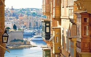 The lower part of Valletta known as l-Arcipierku.