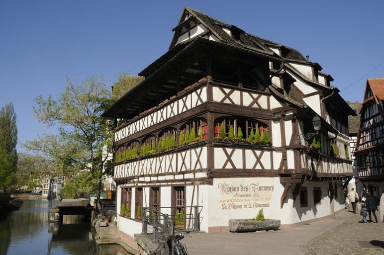 Petite France_ district in Strasbourg