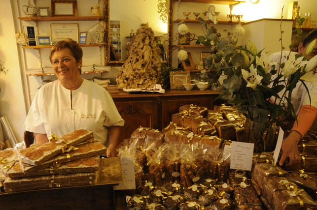 Mireille Oster in her shop _Pain d'Epices_