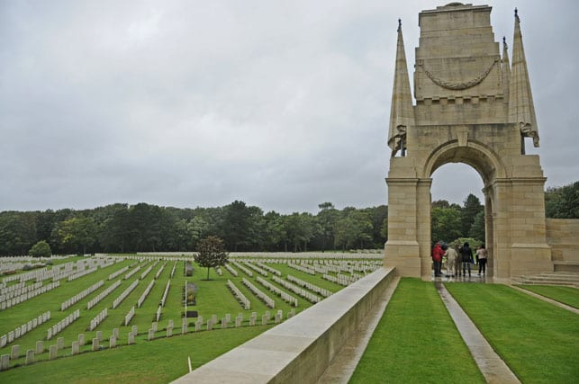 Etaples Military British Cemetery