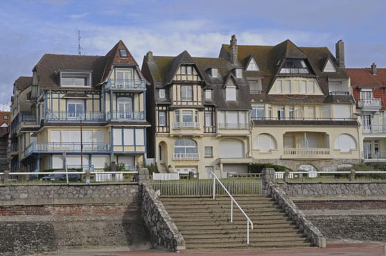 Stairways on the seafront