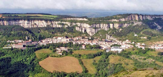 The village of Roquefort