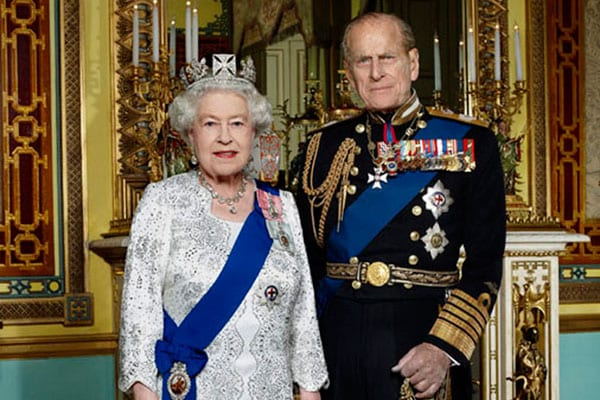 Expected to attend CHOGM, Queen Elizabeth and her husband Philip, the Duke of Edinburgh - renewing old links with Malta.
