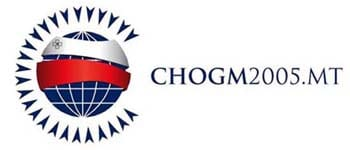 The CHOGM logo when last held in Malta in 2005.