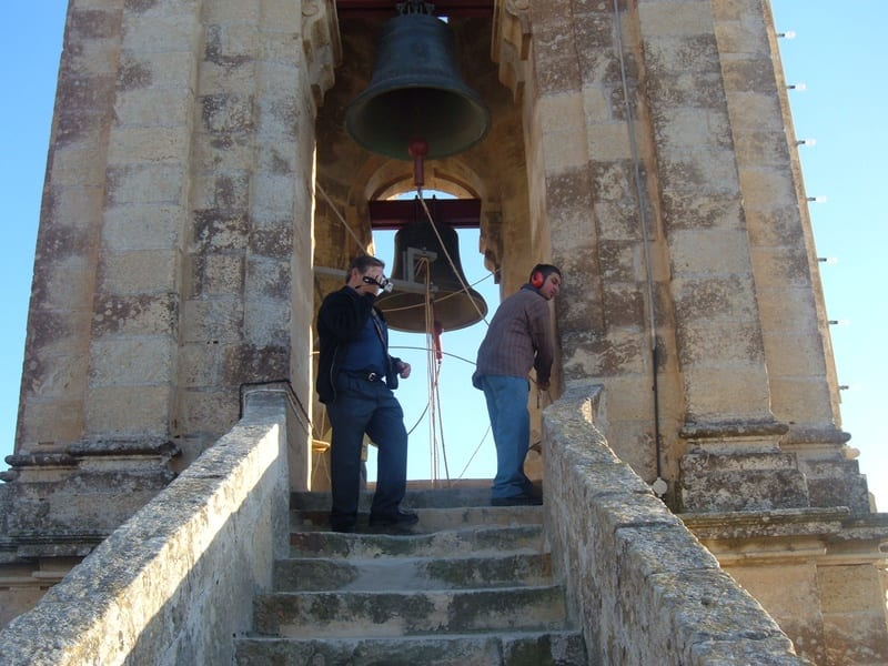Church bells from the Zejtun parish of St Catherine.