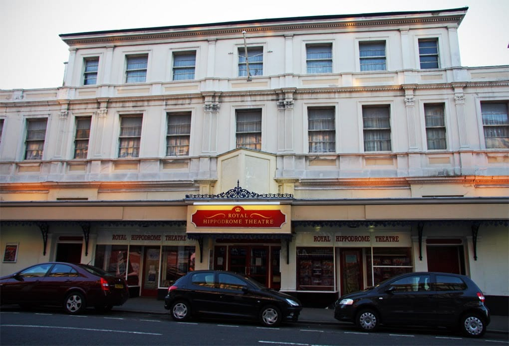 The theatre in Seaside, Eastbourne