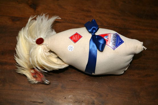 Bresse capon ready for sale