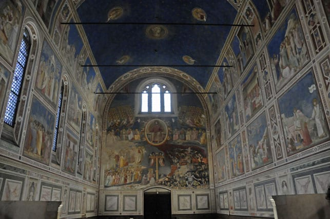 Scrovegni Chapel and Giotto's frescoes