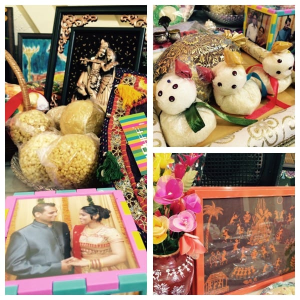 Rukhvat- Artistic section of every traditional Marathi wedding where creative gifts are displayed for guest to view.