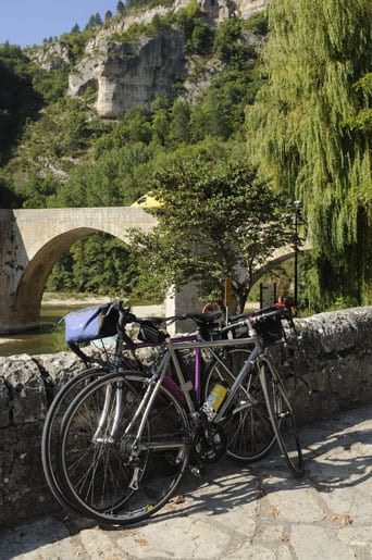 Cycling in the Gorges du Tarn