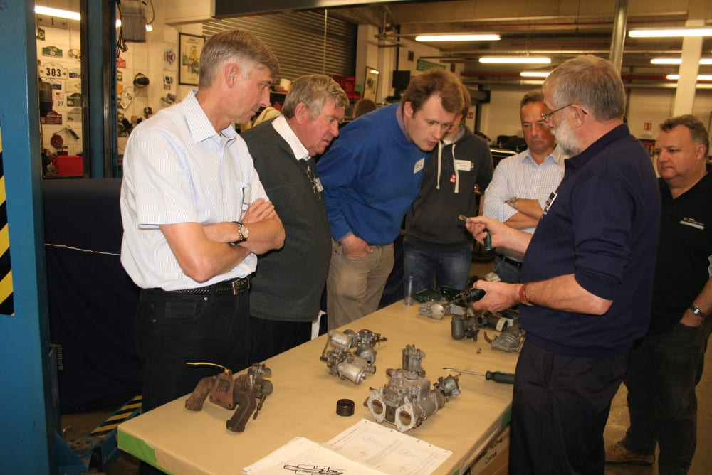 Classic Virgins learning about carburettors