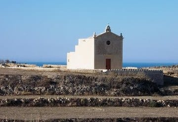 The San Dimitri Chapel in Gharb, Gozo.