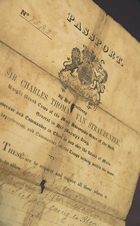 All the Maltese and Gozitans had British passports.