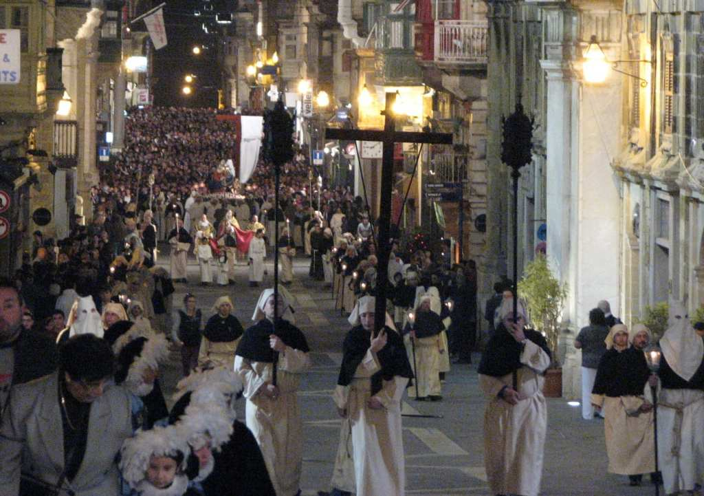 The Valletta Our Lady of Sorrows procession.