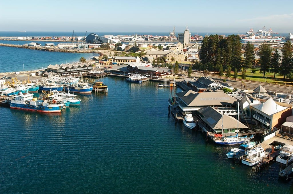 The port of Fremantle today.