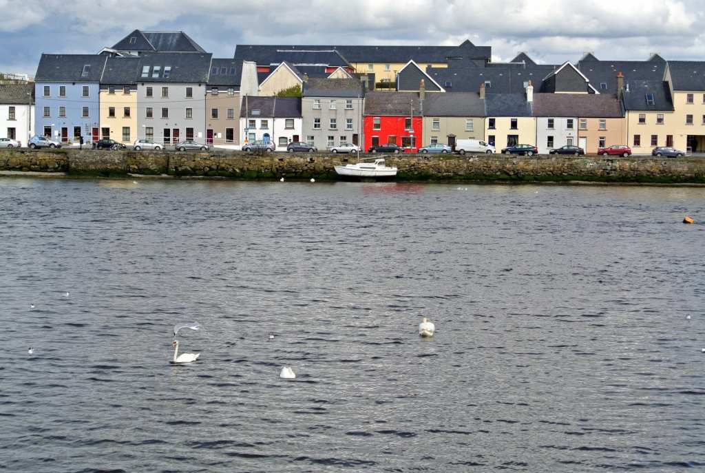 Galway living, across the River Clare
