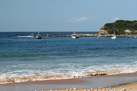 The Haven Terrigal taken by Reginald J. Dunkley
