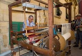 Maybe the last surviving weaver in Malta