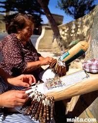 Gozitan lace makers