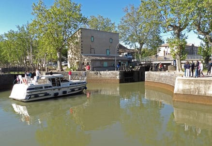 The round lock in Agde