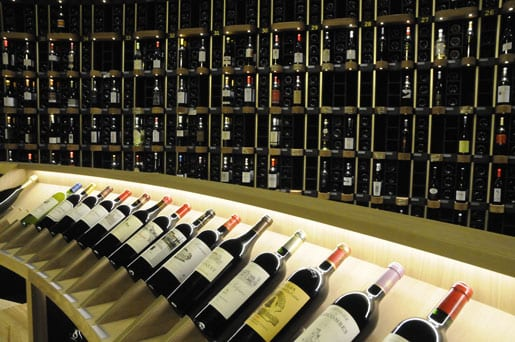 The cellar at the City of Wine