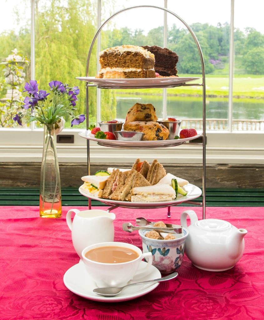 Afternoon tea at Stoneleigh