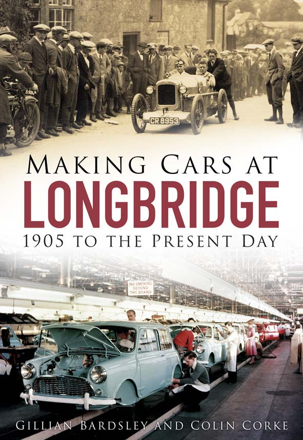 'Making Cars At Longbridge' front cover