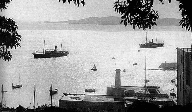 The first official mail steamers Gleneagles and Princess Melita from 1885 to 1924