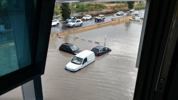 .followed by heavy flooding....weather turns topsy-turvey in Malta as Brexit decision turns it equally topsy-turvey!