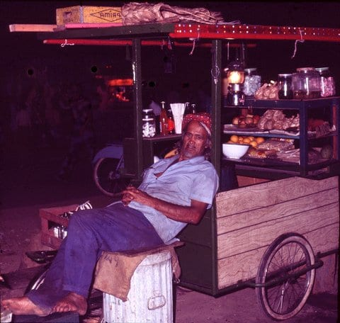 Tahiti - Meals on Wheels taken by Reginald J. Dunkley