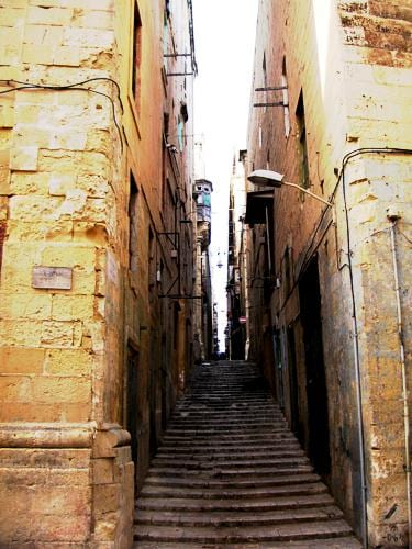 From the straight and narrow Strait Street .....