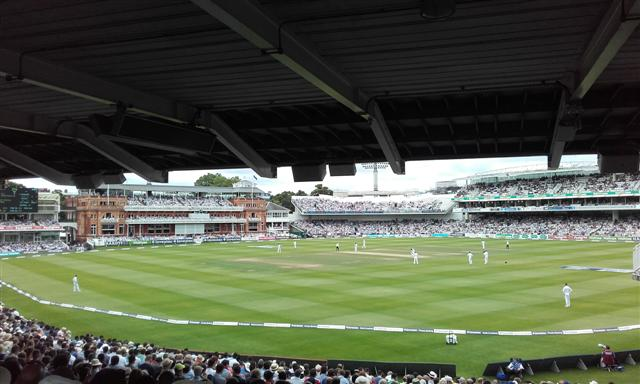 Panoramic View From The Mound Stand
