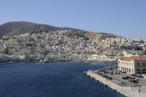 3- Arriving in Syros