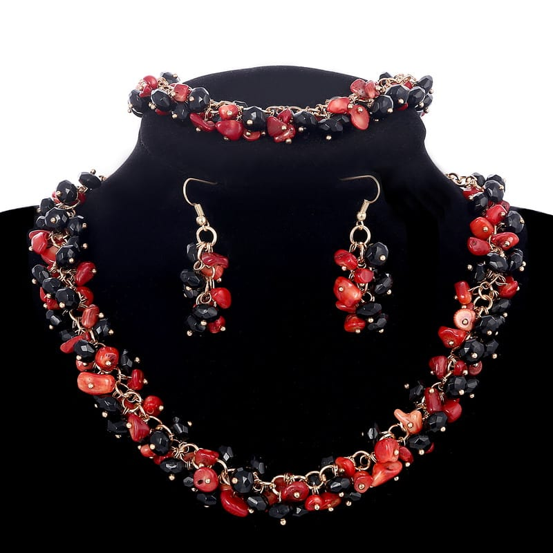 a-red-and-black-coral-display