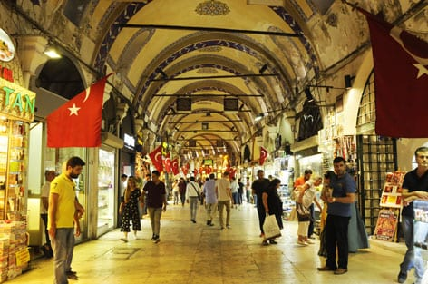 In-the-maze-of-the-Grand-Bazaar