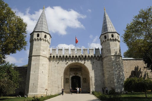 Entrance-Gate-of-Topkapi-Palace