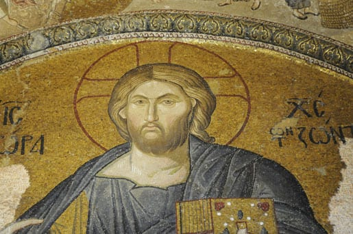 Middle-Ages-mosaic-in-the-church-of-the-Holy-Saviour-in-Chora