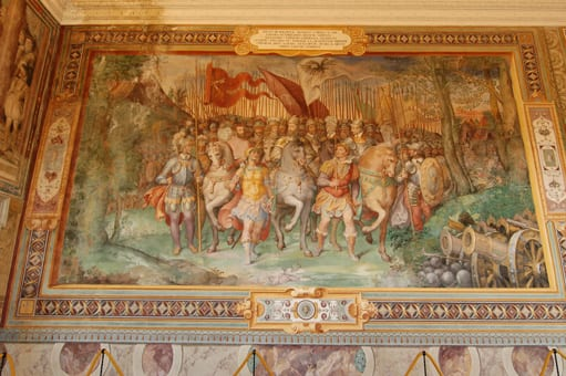 Fresco-in-the-Fasti-Farnesiani-room