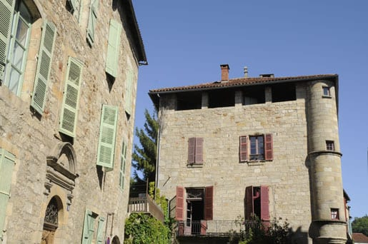Old house in Figeac