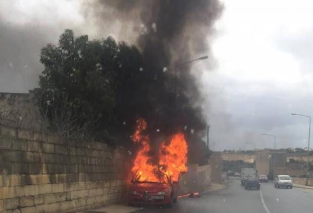 The-first-car-bomb-of-2016-at-the-Marsascala-Bypass-claiming-the-first-victim