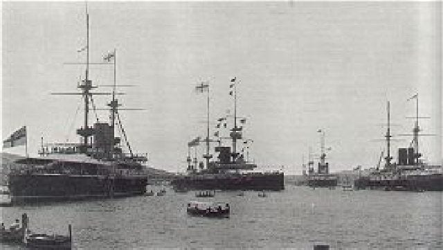 British-warships-in-Malta-in-1902.