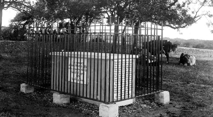 The Miller's Tomb - Highdown Hill 1908