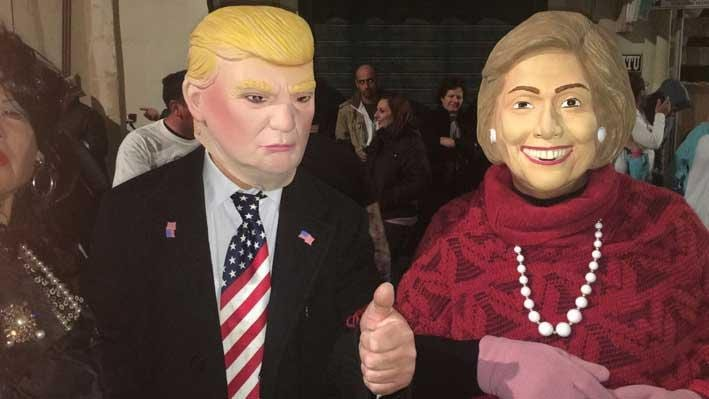 Making-fun-of-Donald-Trump-and-Hillary-Clinton