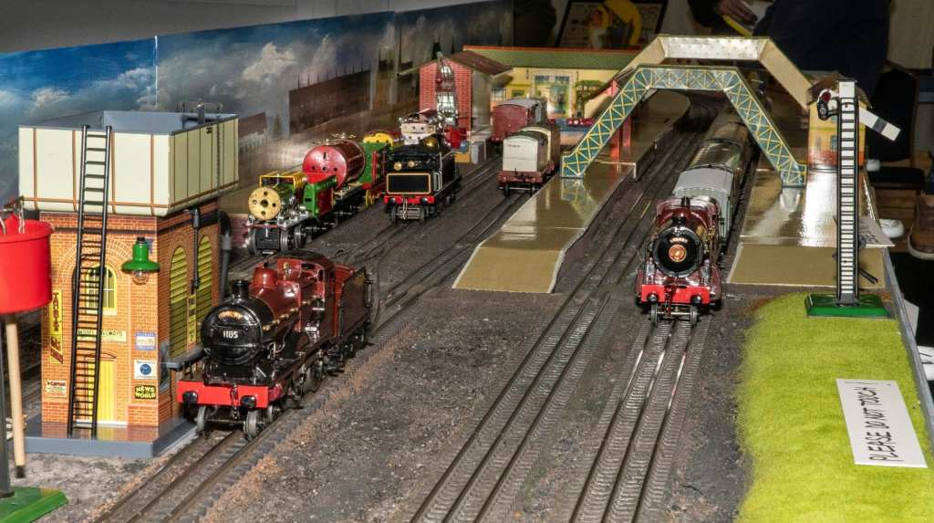 Pic Hornby steams ahead